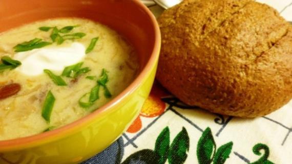 Пасуля или суп с фасолью по-закарпатски