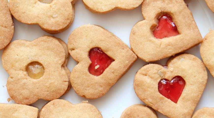 найти и посмотреть рецепты печенья песочное