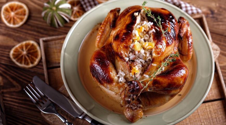 Курица в медовой глазури рецепт 200