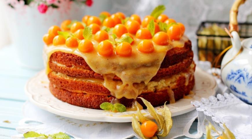 Торт лимонный с пошаговым фото