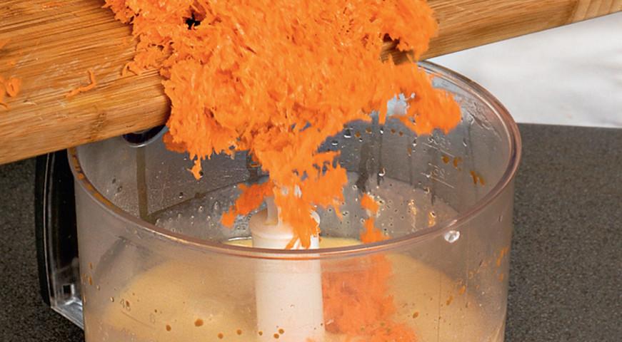 Морковный пирог. Шаг 1