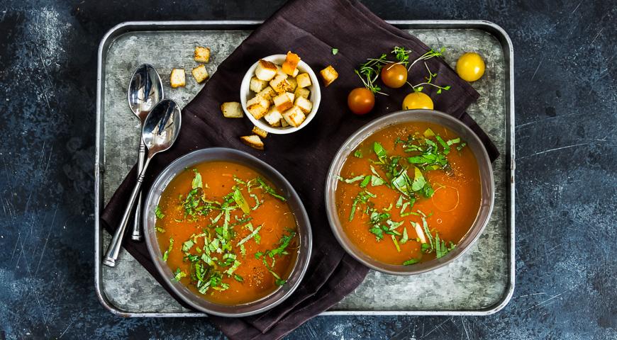 карпаччо из помидоров рецепт суп