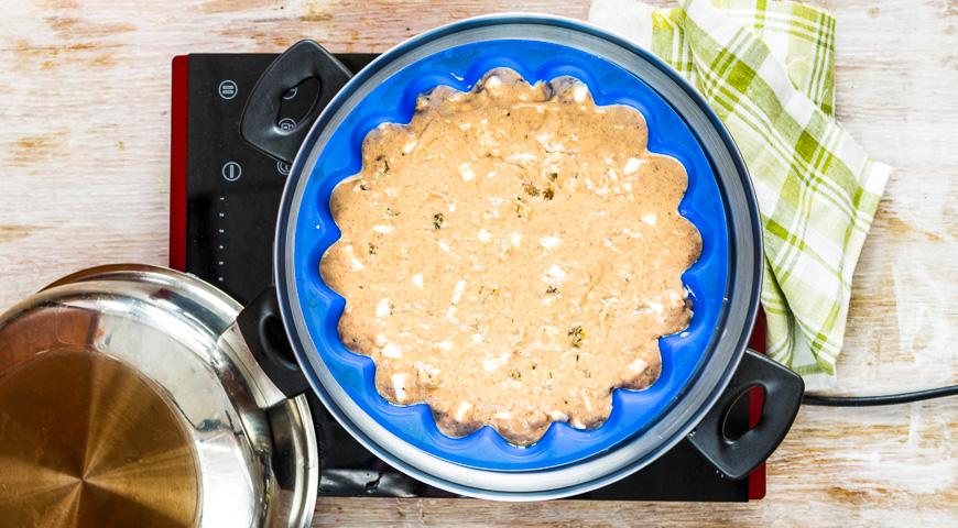Постный пряный пирог с яблоками на пару. Шаг 3