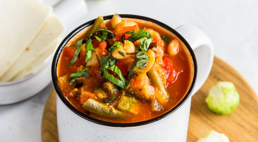 рыбный суп с фасолью рецепт с фото