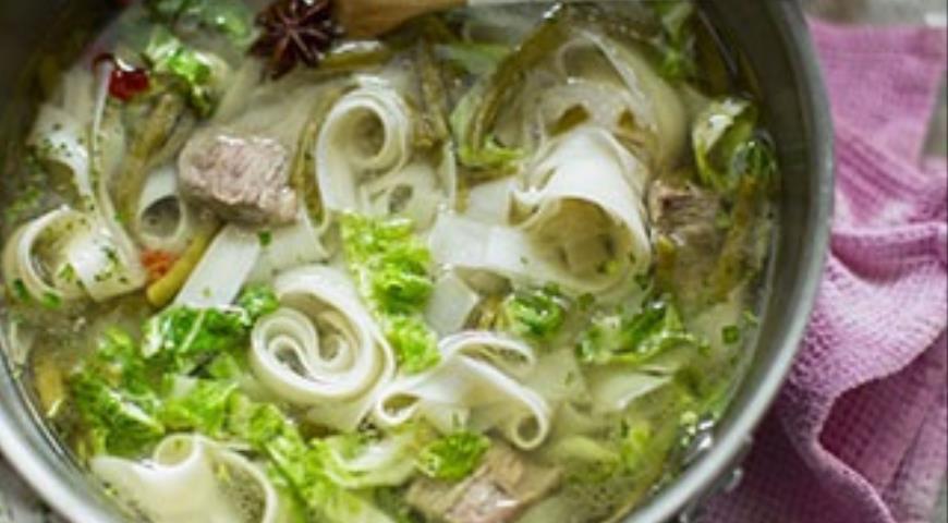 Кавказские супы с бараниной #3