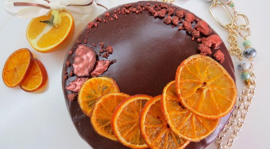 """Торт """"Апельсиновый трюфель"""". Шаг 6"""
