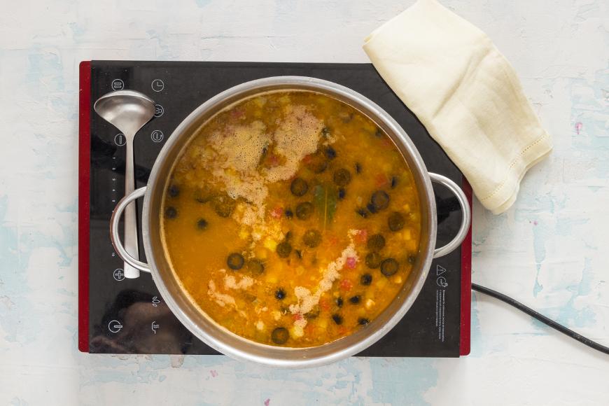 пошаговый рецепт приготовления мясной солянки сборной мясной