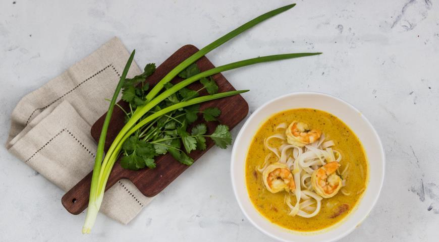 украшение супа
