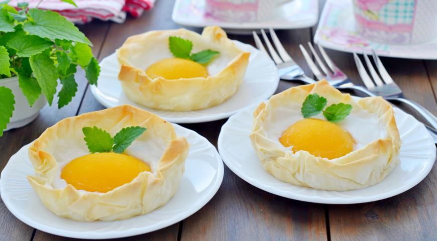 """Пісний десерт """"яєчня"""""""