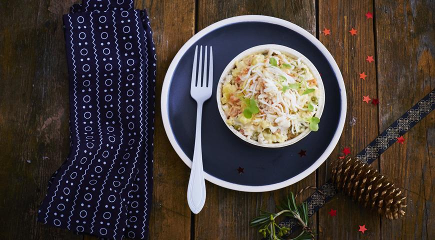 Блюда с крабами рецепт