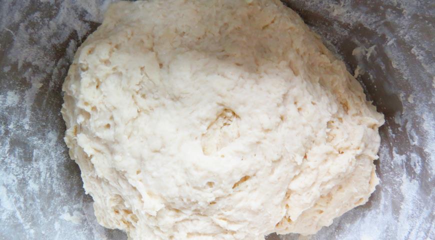 Постные чебуреки с картофелем и грибами. Шаг 2