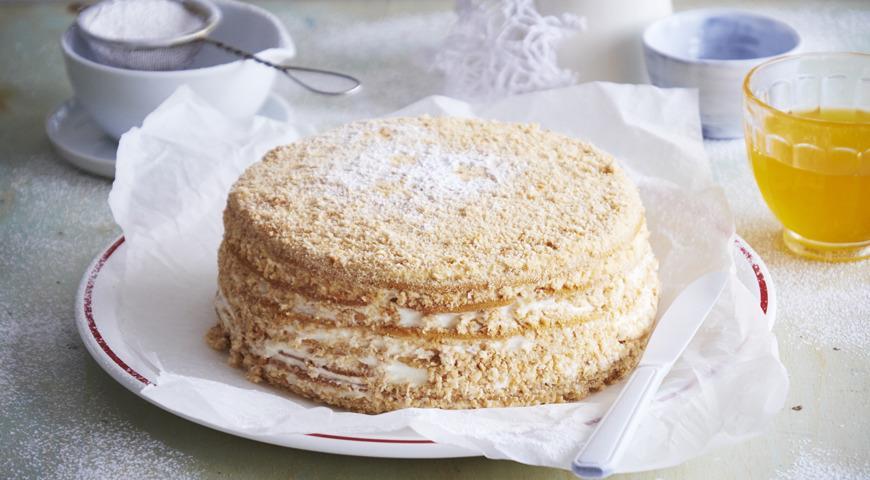 торт медовик пошаговый рецепт