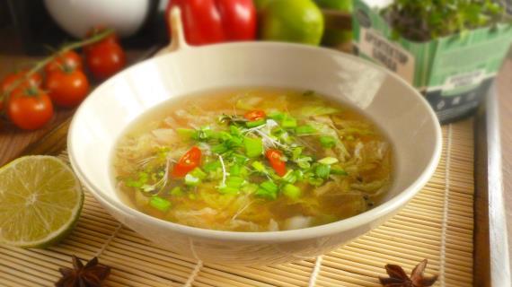 Азиатский овощной бульон