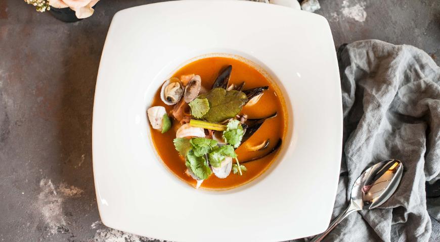 рецепт супа том ям рецепт в домашних условиях
