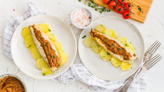 рецепт приготовления тилапии с картошкой