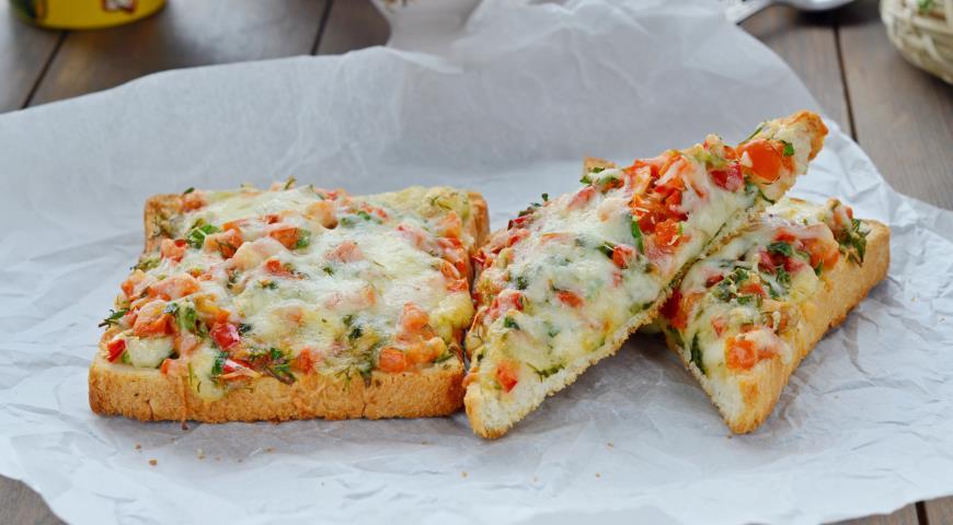 Горячие бутерброды, пошаговый рецепт с фото