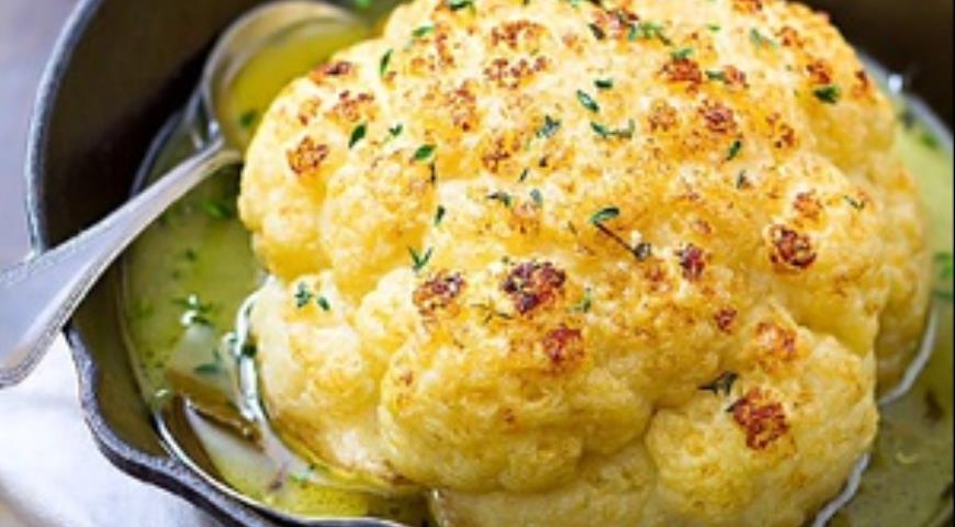 блюда из цветной капусты постные рецепты быстро и вкусно