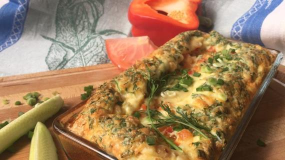 Как приготовить омлет в духовке рецепт с пошагово