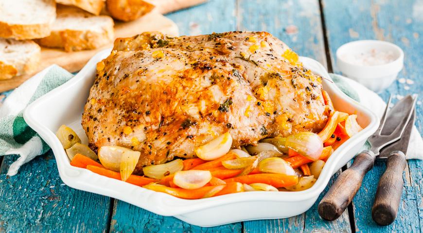 фарш курица свинина рецепт с фото в духовке