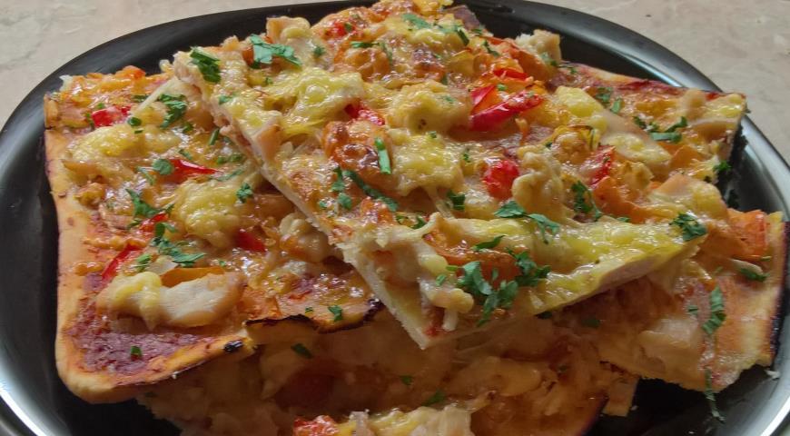 Вкусная пицца рецепт на тонком тесте рецепт