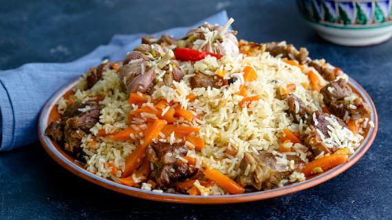 Узбекский плов в казане, пошаговый рецепт с фото