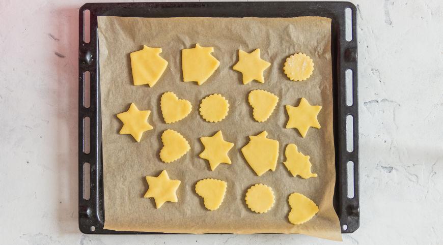 Простое песочное печенье. Шаг 4