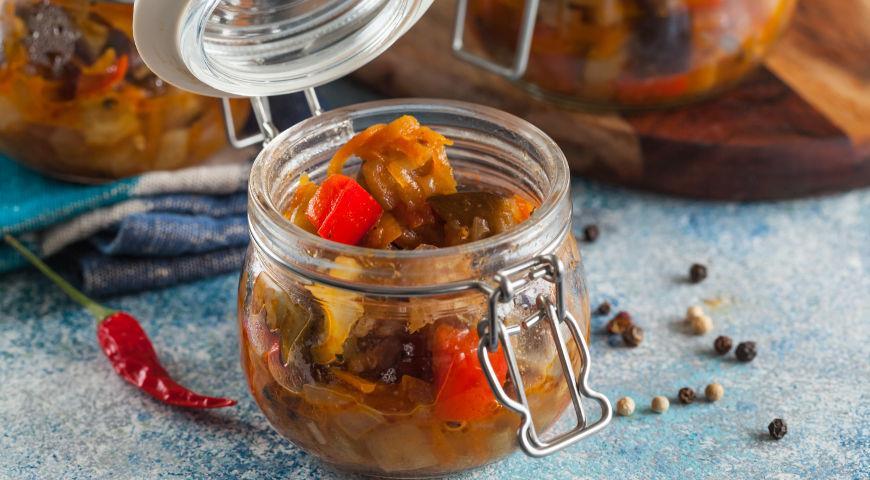 быстрые рецепты икры из баклажанов на зиму