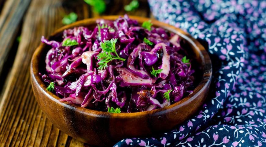 фольклор вошел салат из красной капусты рецепт с фото работу