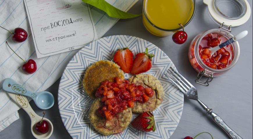 сырники в духовке рецепт с фото с соусом
