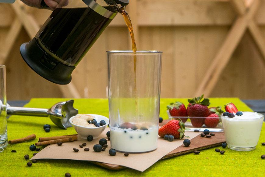Кофейный смузи. Шаг 2