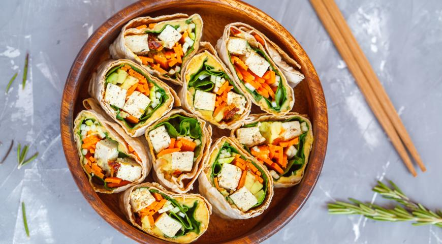 вегетарианские рецепты с тофу