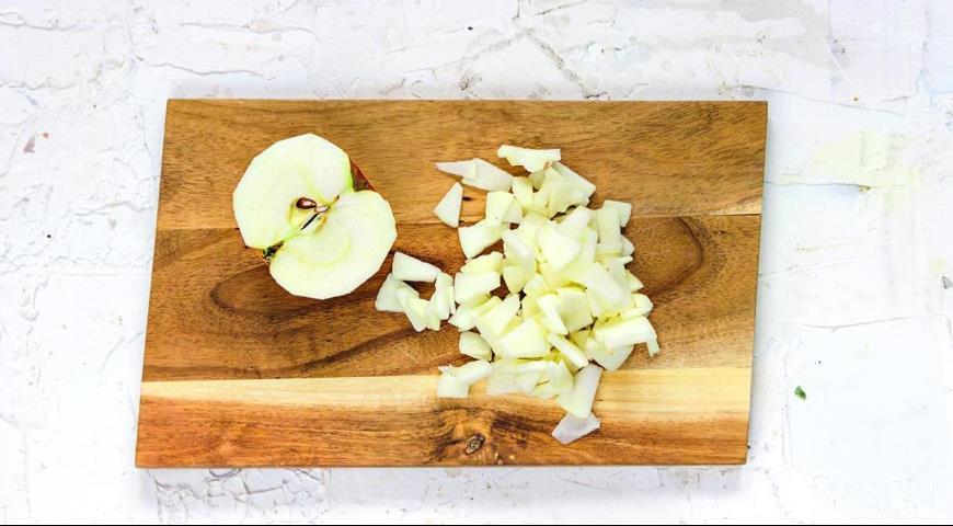 Творожная запеканка с лапшой и яблоками, пошаговый рецепт с фото