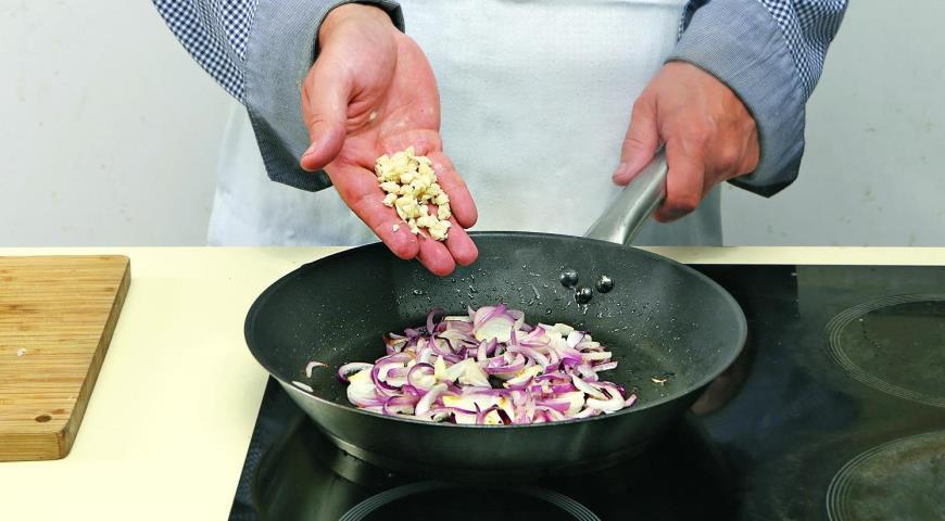 Тосканский салат из фасоли ипармезана. Шаг 4