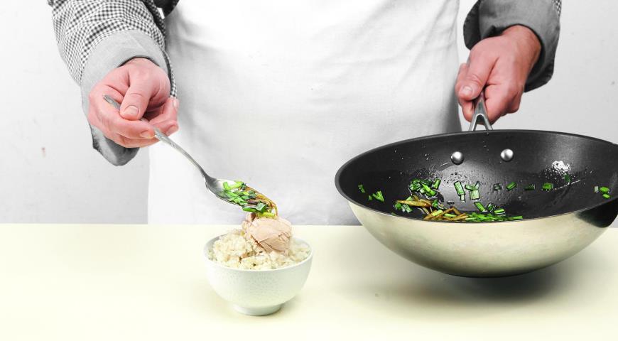 Чикен райс, сингапурский рис скурицей, пошаговый рецепт с фото