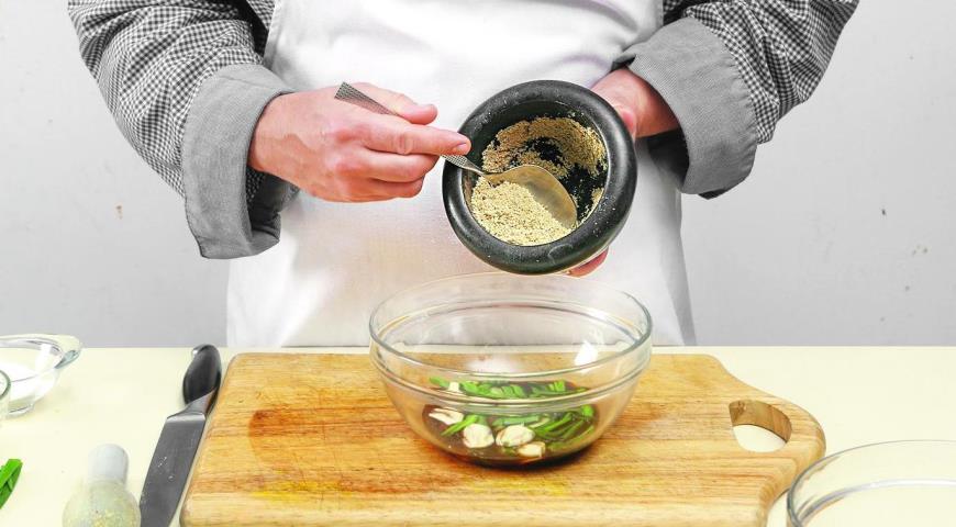 Фото приготовления рецепта: Корейская говядина бульгоги, шаг №3