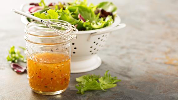 как приготовить соус для винегрета
