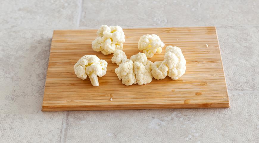 Фальшивое картофельное пюре с сыром. Шаг 1