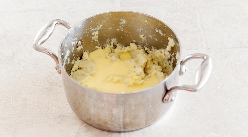 Фальшивое картофельное пюре с сыром. Шаг 3
