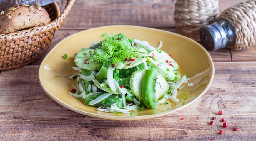 салат с киви классический рецепт