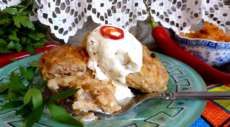 Ленивые голубцы рецепт пошагово из капусты