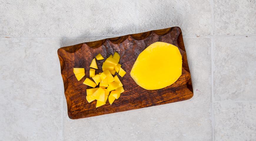 Севиче из гребешка с манго, пошаговый рецепт с фото