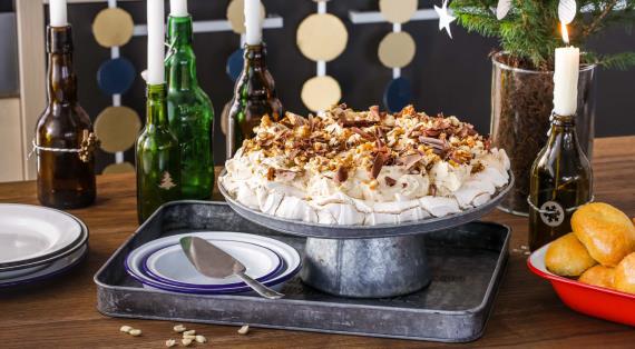 Торт с меренгой - рецепт пошаговый с фото