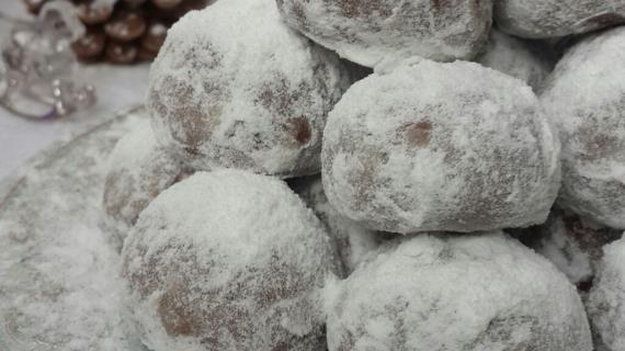 Печенье Шоколадные снежки