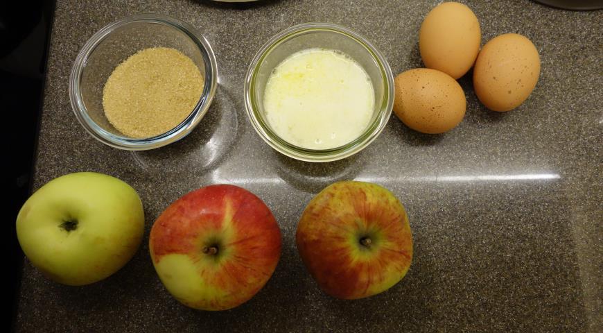 Яблочный пирог (Tarte vergeoise aux pommes). Шаг 6