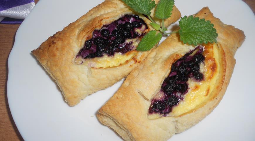 Домашние слойки с печенью рецепт с фото пошаговый Едим 78