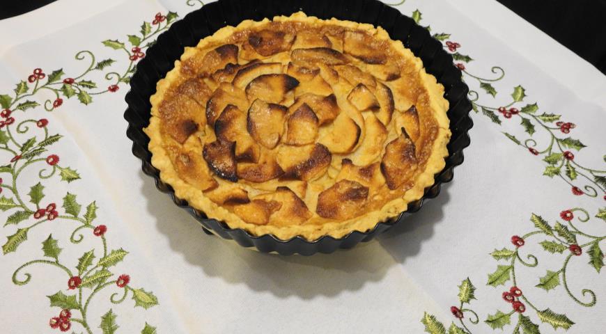 Цветочный яблочный пирог — 6