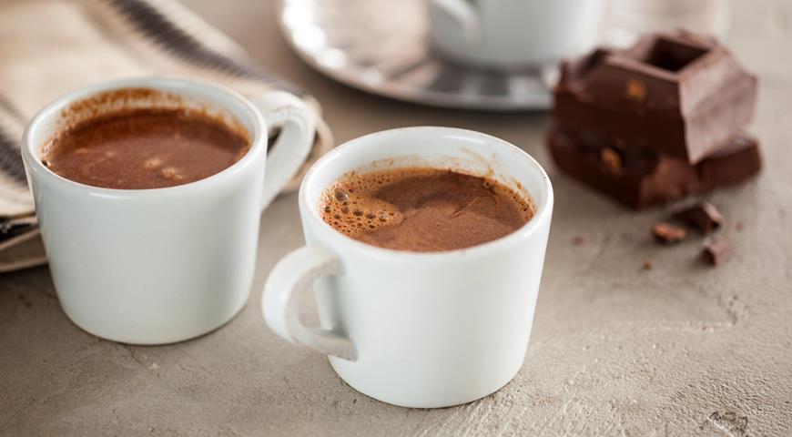 Парижский горячий шоколад