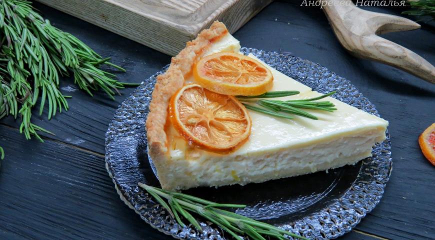 Лимонный тарт с розмарином. Шаг 7