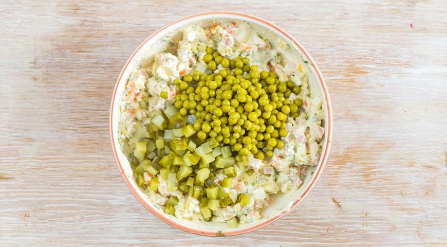 рецепт оливье классический на 5 кг