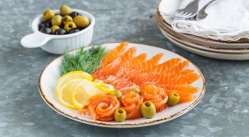 Гравлакс, или малосольный лосось, пошаговый рецепт с фото